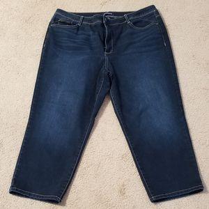 Women's Plus Size Ankle Jeans